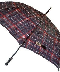 چتر چهارخانه دورنگ