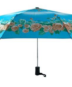 چتر ابی گلدار