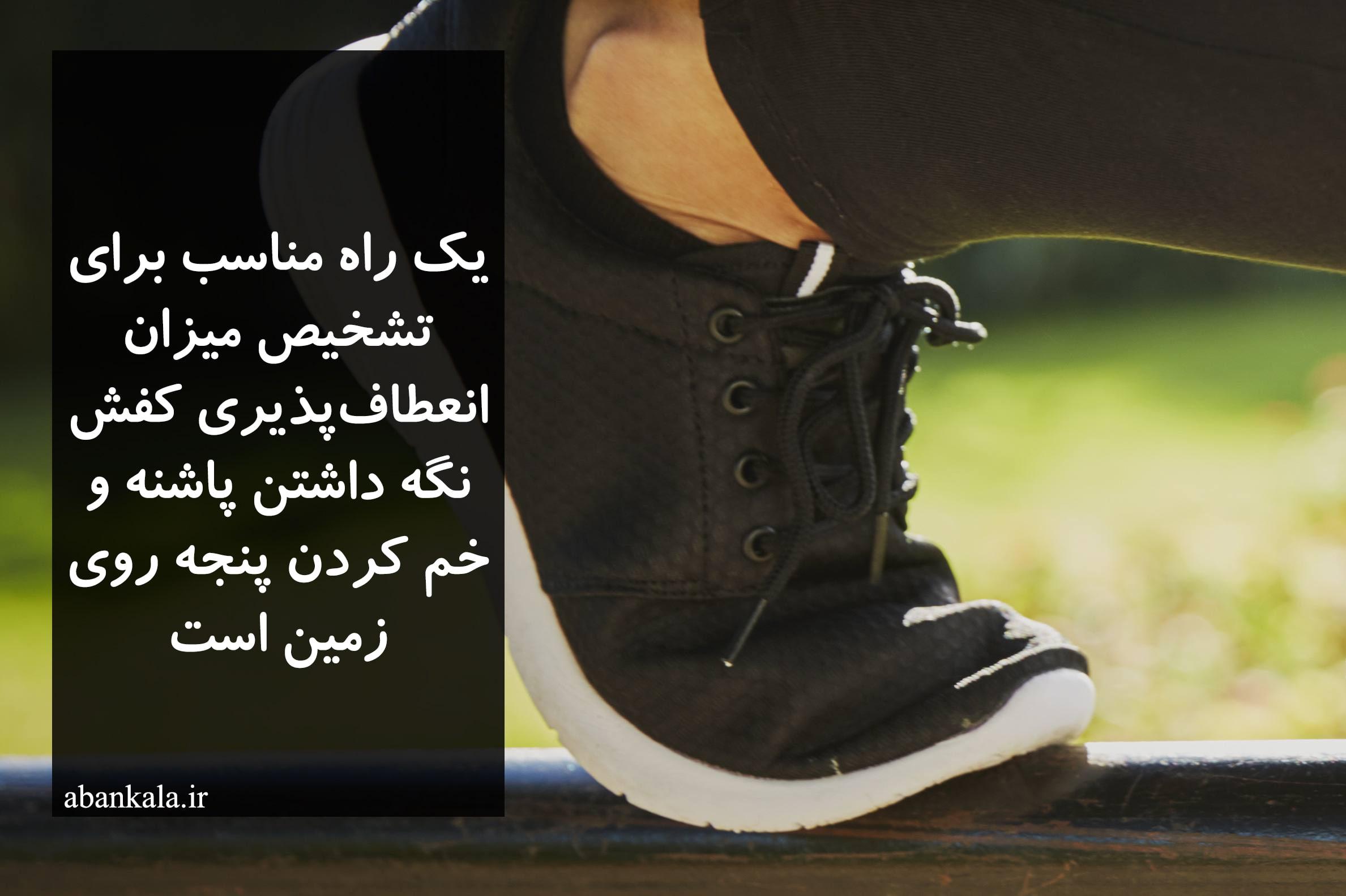 کفش انعطاف پذیر برای دویدن