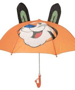 چتر کودکانه رنگ نارنجی