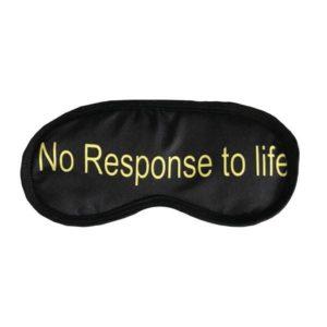 چشم بند طرح no response to life