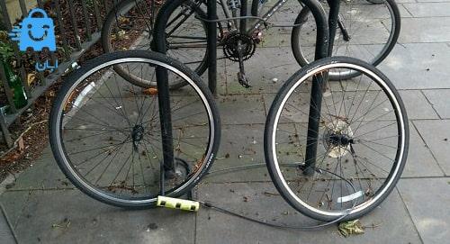 قفل دوچرخه