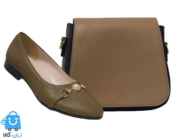 خرید ست کیف و کفش زنانه روزمره